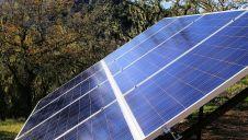 Solar Panels Close